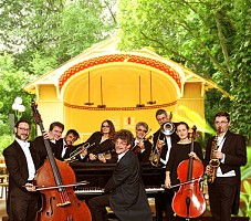 HOT JAZZ mit SALONIKER STRING AND SWING ORCHESTRA im Cannstatter Kursaal